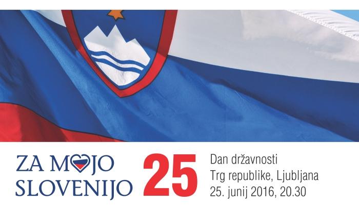 Za mojo Slovenijo - oglas banner splet